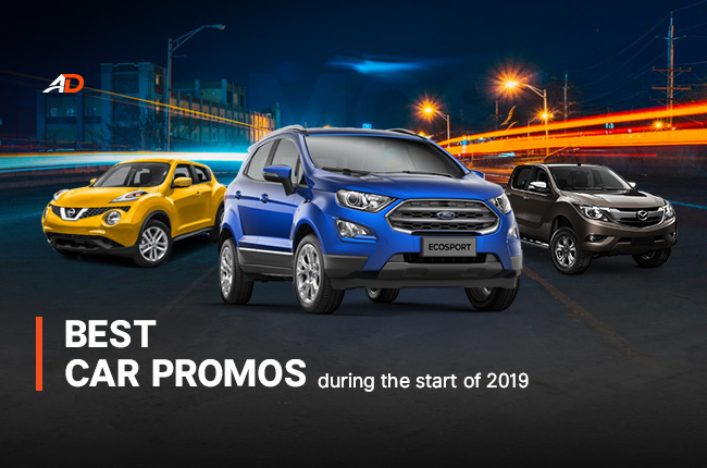 Best Car Promos available during the start of 2019