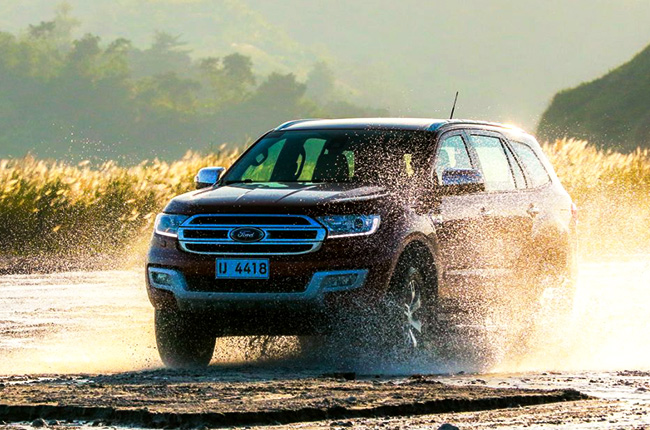 Ford Everest 0% interest promo