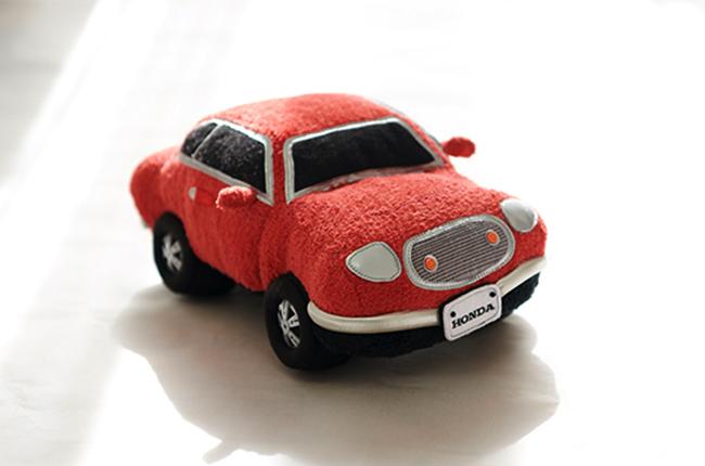 Honda Sound Sitter stuffed toy car