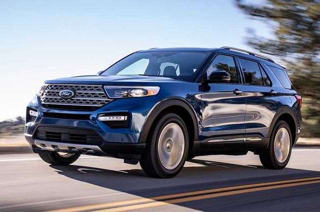 2020 Ford Explorer Detroit