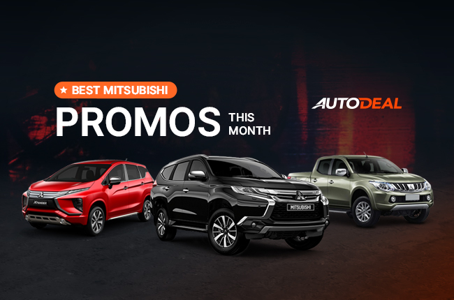 Mitsubishi Promos in the Philippines autodeal