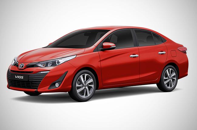 2019 Toyota Vios XE