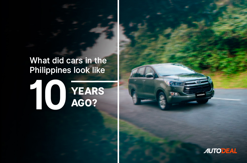 What did cars in the Philippines look like 10 years ago?