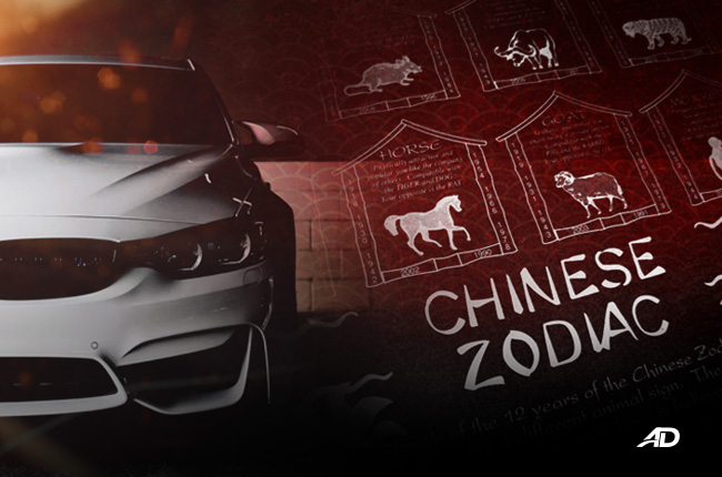 Autodeal lists down which car types belong to each Chinese Zodiac sign