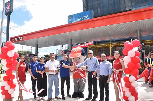 Caltex EDSA grand opening