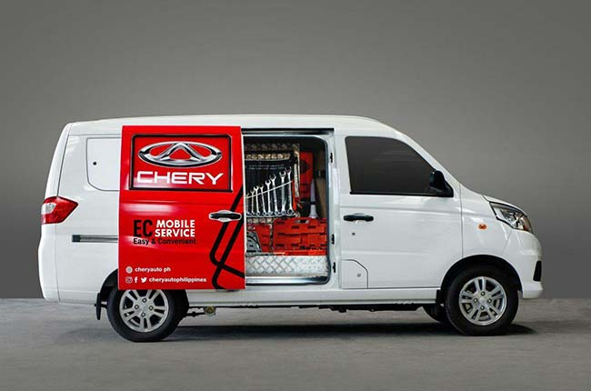 Chery Philippines EC mobile program