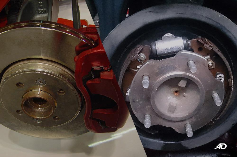 Dsc brakes vs Drum brakes