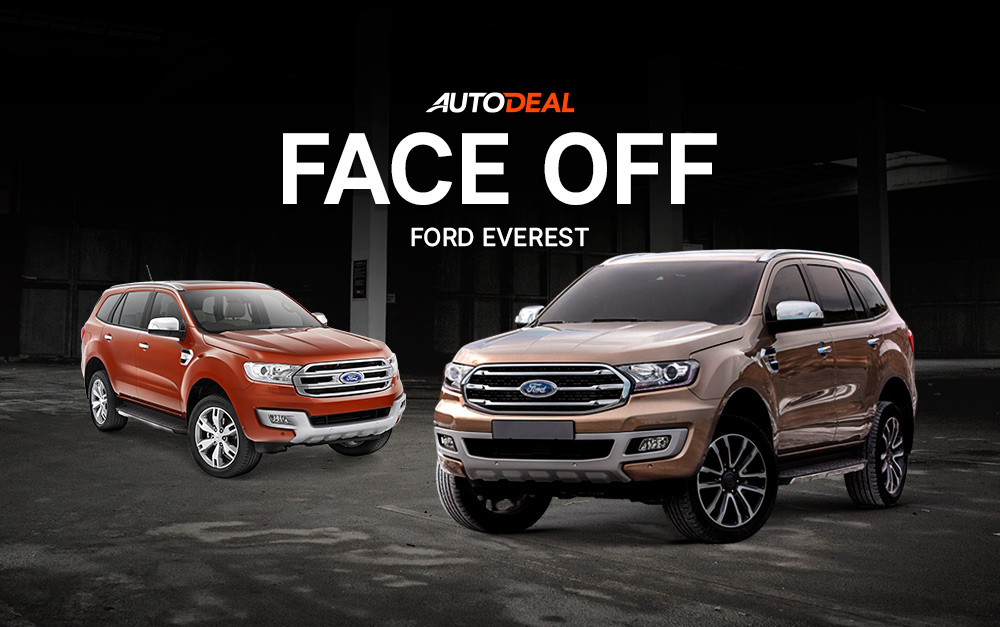 Face-Off: Old vs 2020 Ford Everest