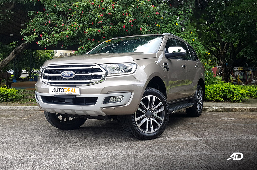 Facelifted 2020 Ford Everest Philippines