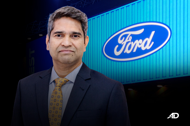 Ford appoints PK Umashankar as new managing director of Ford Philippines