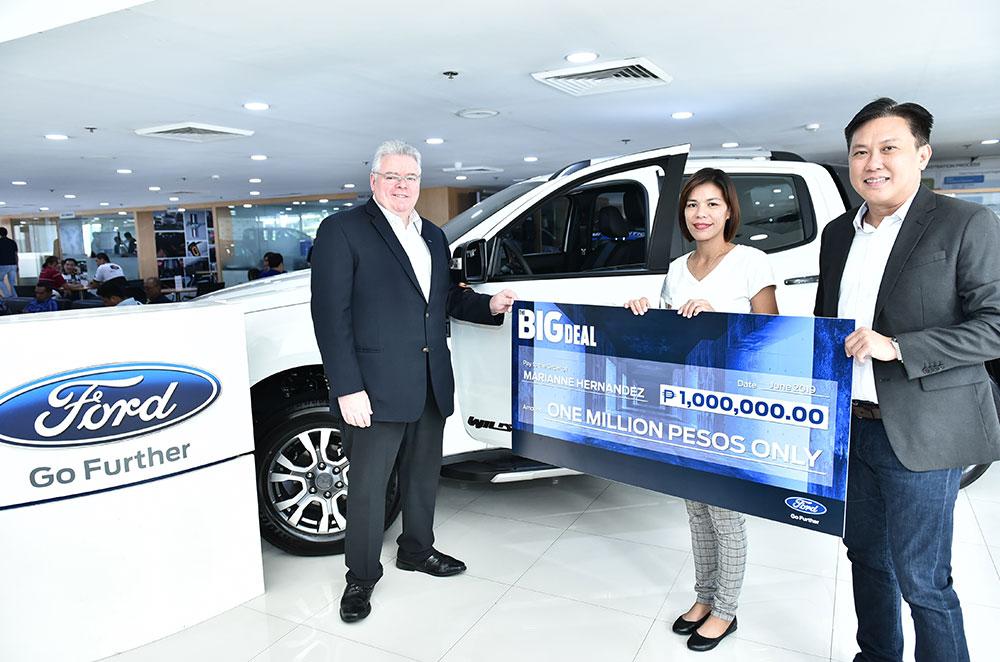 Ford Big Deal Awarding