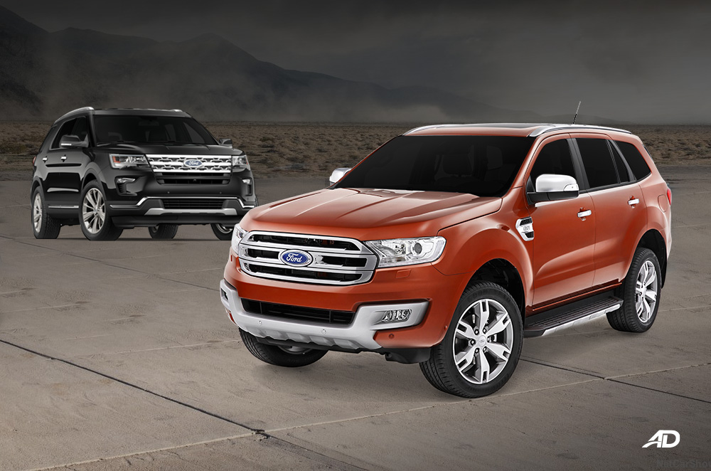 Ford Everest vs. Ford Explorer: What are the differences?