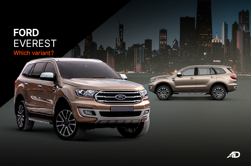 Ford Everest - Which Variant?