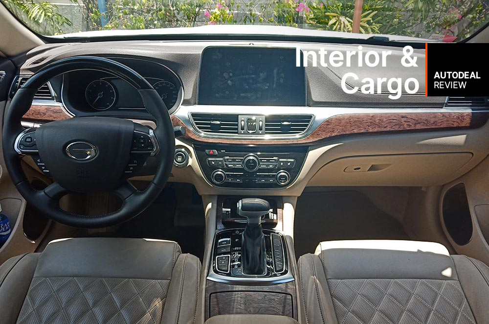 GAC GA8 interior and cargo space review