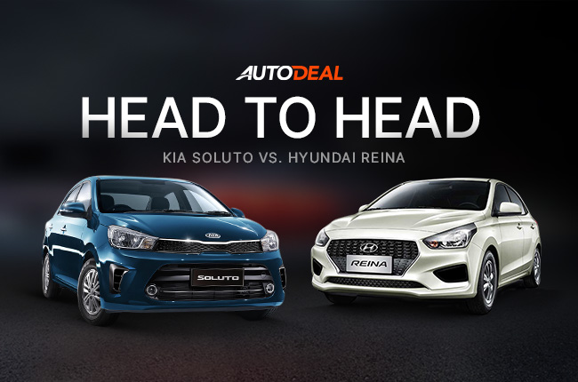Head-to-Head Comparison: Kia Soluto vs. Hyundai Reina