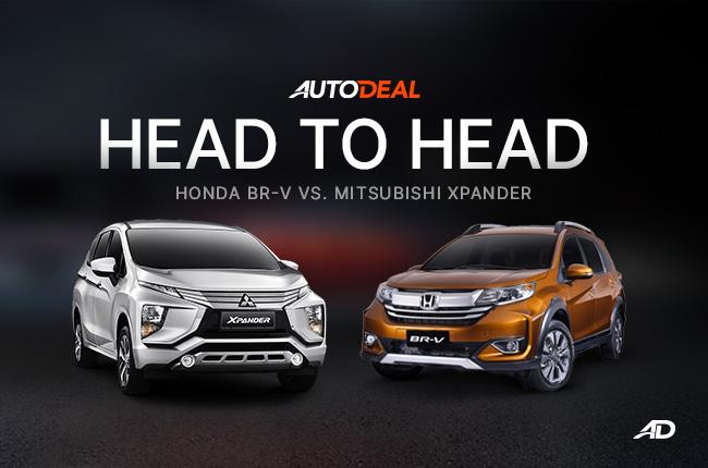 Head to head Mitsubishi Xpander - Honda BR-V