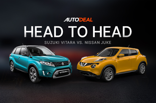Head-to-Head: Suzuki Vitara Vs. Nissan Juke