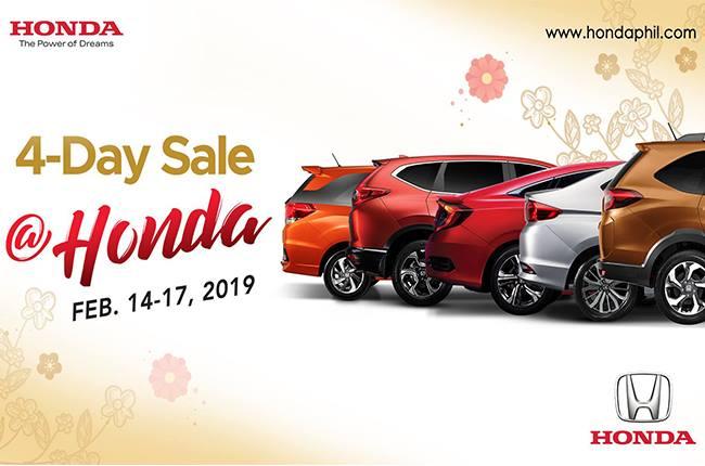 Honda 4-day sale