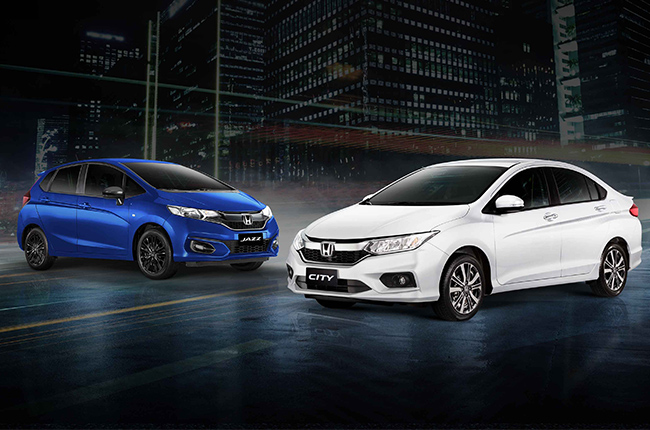 Honda Limited edition Jazz and City