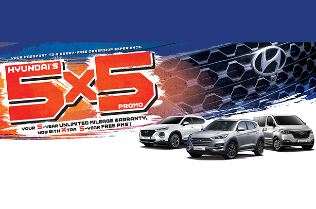 Hyundai promo 5x5