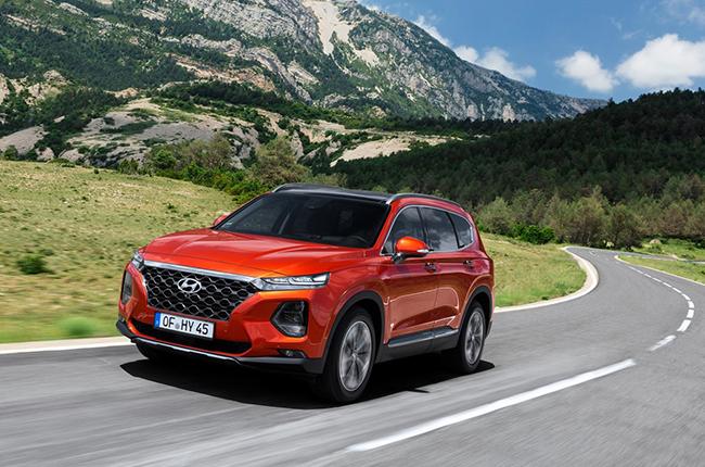 Hyundai Santa Fe Top of the Line Variant