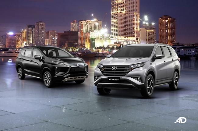 Mitsubishi Xpander vs Toyota Rush