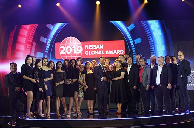 Nissan Global Awards