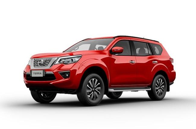 Nissan Terra Fiery Red