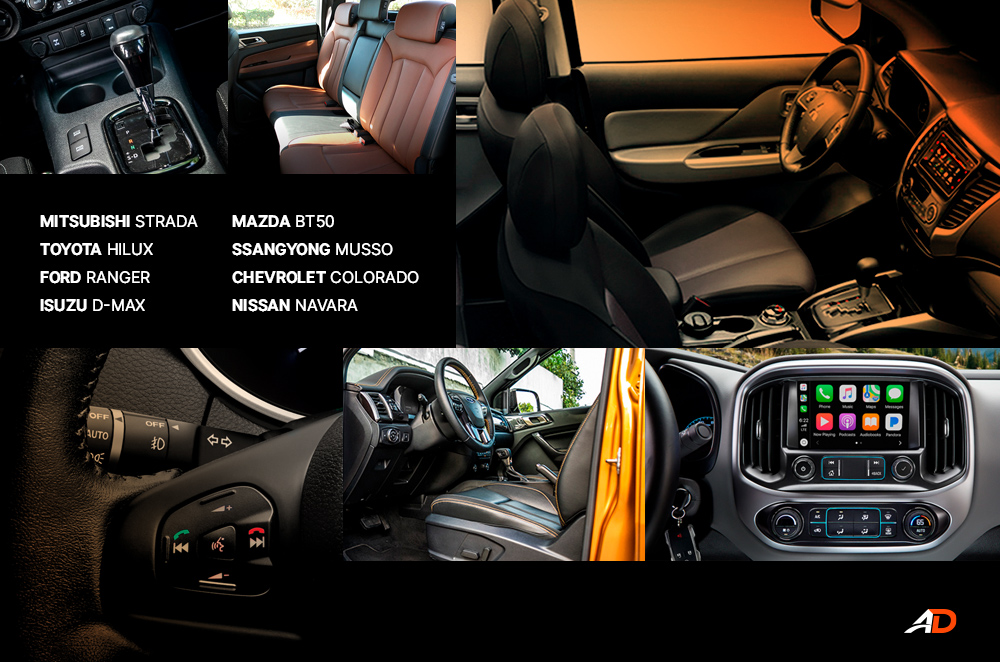 Pickup Truck Interior Comparison