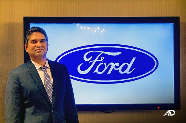 PK Umashankar Ford Philippines