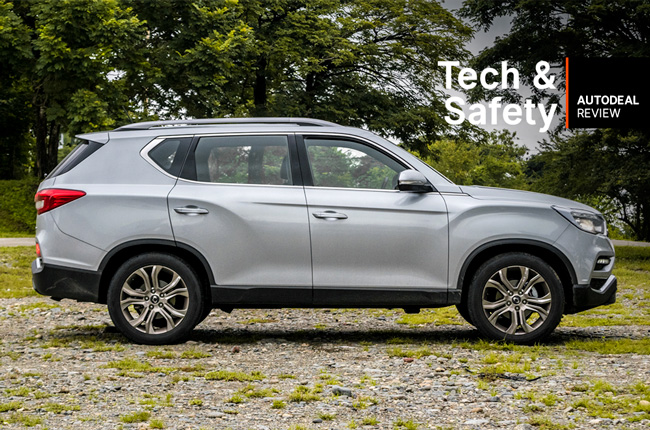 SsangYong Rexton Tech and Safety