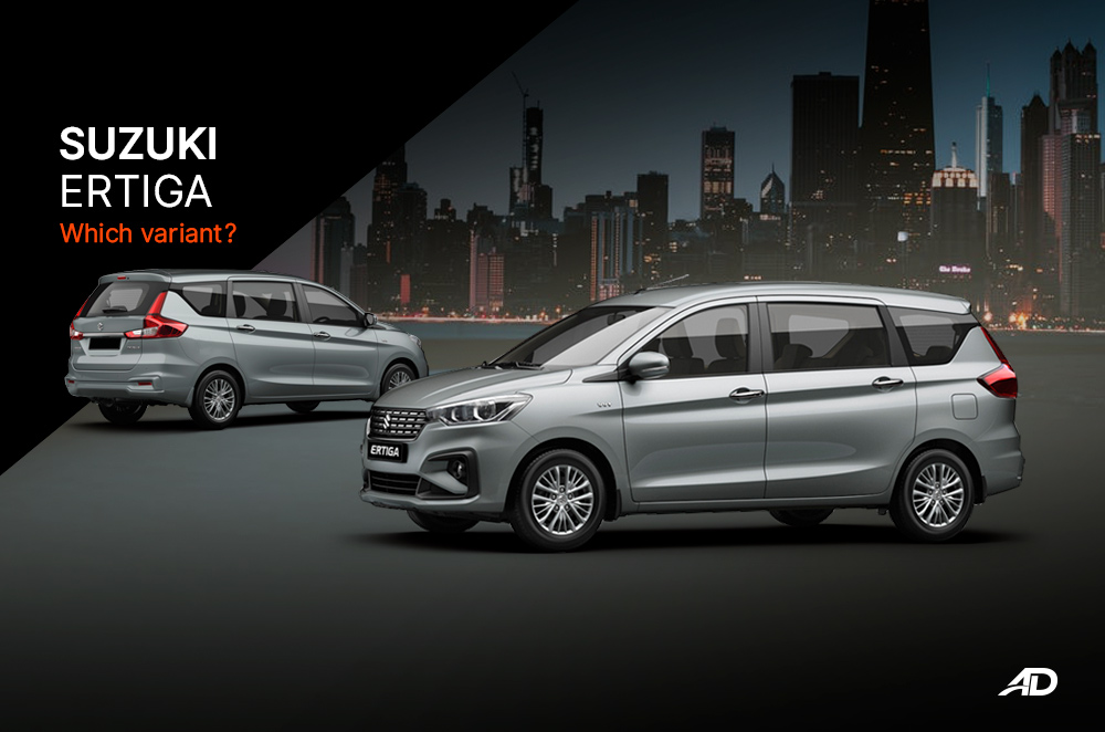 Suzuki Ertiga: The value packed MPV – Which variant?