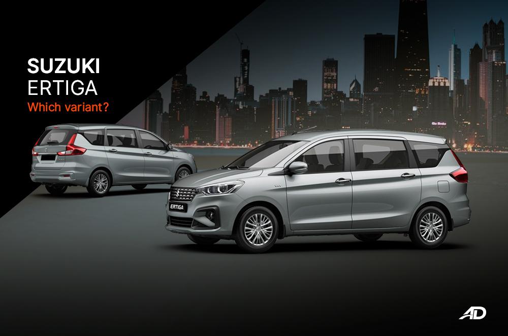 Suzuki Ertiga: The value packed MPV – Which variant?