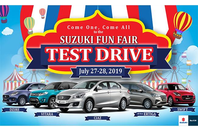 Suzuki Test Drive