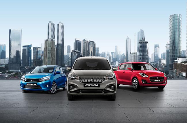 Suzuki top 3 selling units