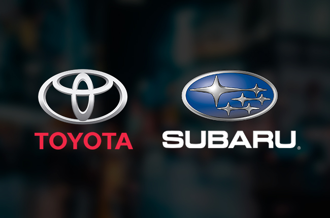 Toyota And Subaru