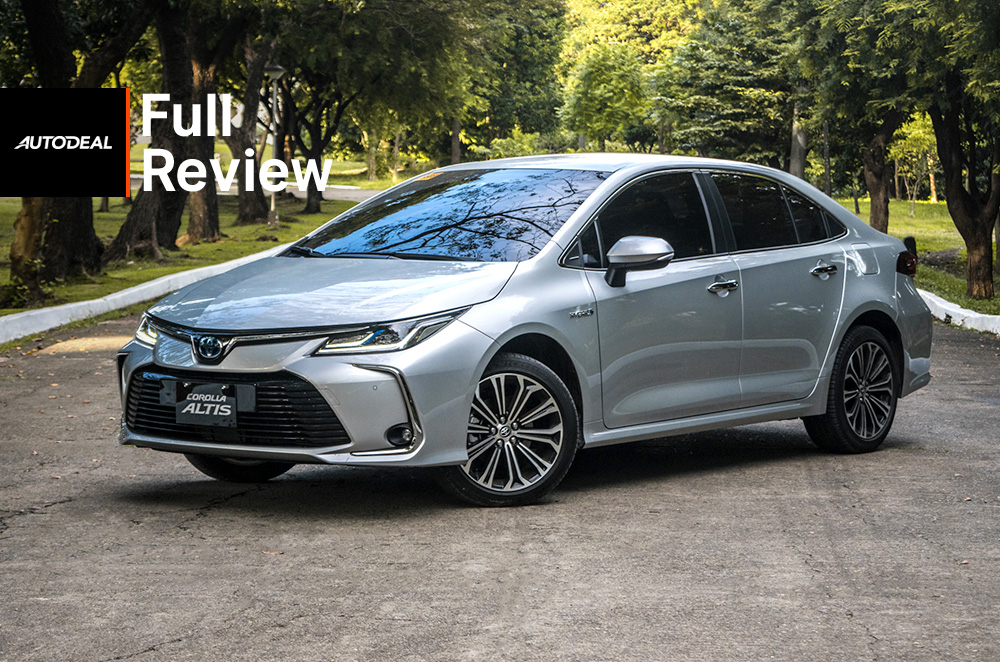 Toyota Corolla Altis Hybrid review road test philippines
