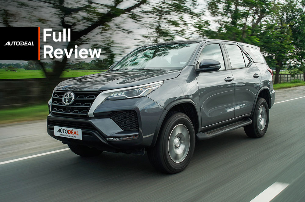 Toyota Fortuner G Review
