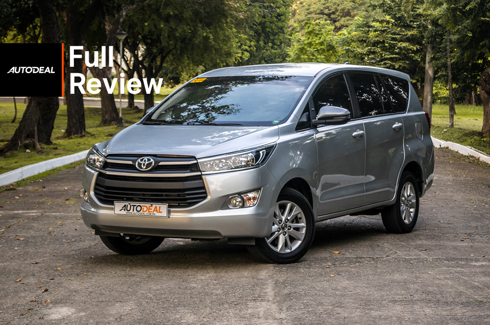 toyota innova review road test beauty shot exterior philippines