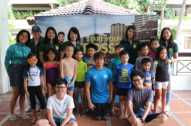 Toyota Swimming Clinic