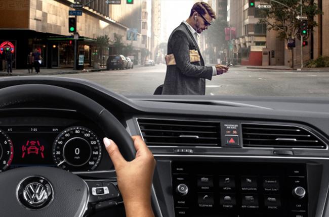 Volkswagen Pedestrian Monitoring system