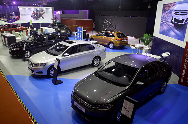 VW booth