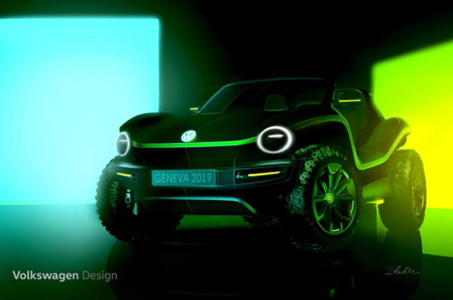 VW Dune Buggy Electric