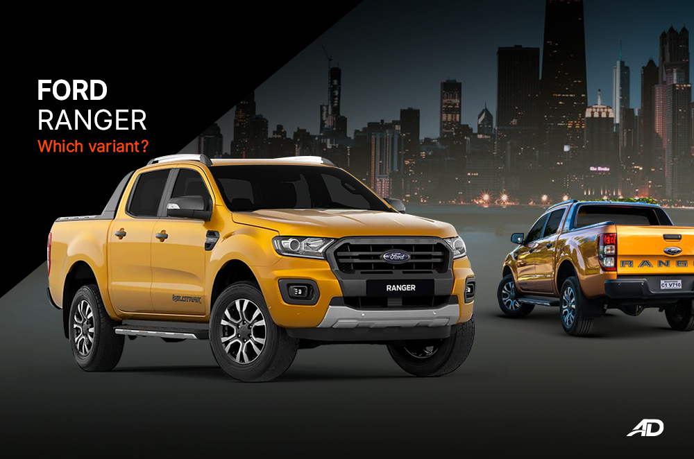 Which variant of the Ford Ranger is perfect for you?
