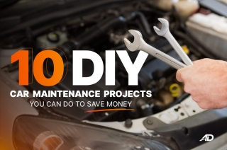 10 DIY car maintenance projects you can do to save money