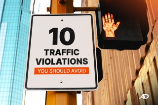 10 Traffic violations you should avoid