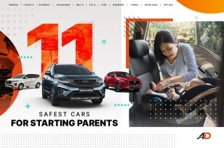 11 safest cars for starting parents