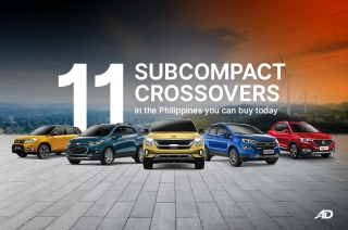 11 subcompact crossovers in the Philippines you can buy today