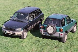 1st generation Toyota Rav4 body styles