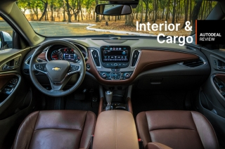 2018 Chevrolet Malibu Interior & Cargo Space